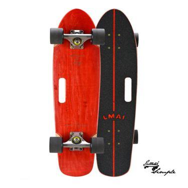 樂邁LMAI竹木滑板大魚板舞板男女生刷街代步小魚板成人四輪滑板車