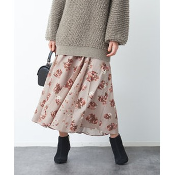 【Rouge vif la cle:スカート】パッチワークスカート