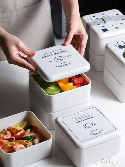 餐盒學生便攜式迷你可愛好看的微波爐小巧ins保溫便當盒飯盒