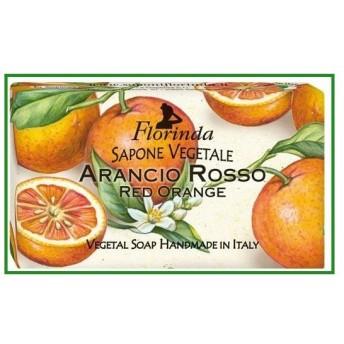 送料無料 FLORINDA フレグランスソープ フルーツ レッドオレンジ|b03