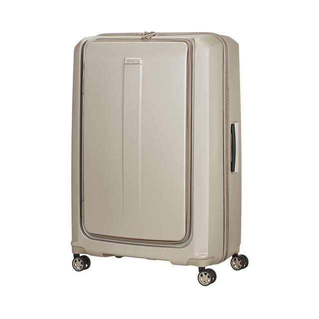 Samsonite新秀麗  25吋Prodigy 1:9前開PC防刮雙扣鎖行李箱  香檳金