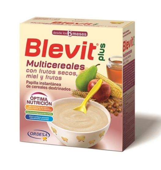 Blevit貝樂維 堅果水果麥精300g