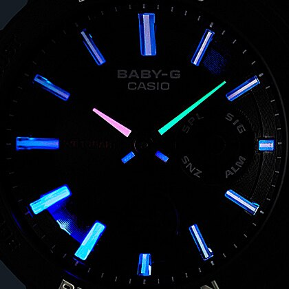 CASIO Baby-G BGA-255-7A 冒險系列女錶(白)
