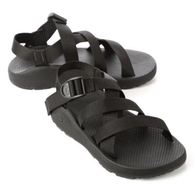 美國Chaco。男 經典舒壓運動涼鞋CH-BLM01H405 (經典黑)