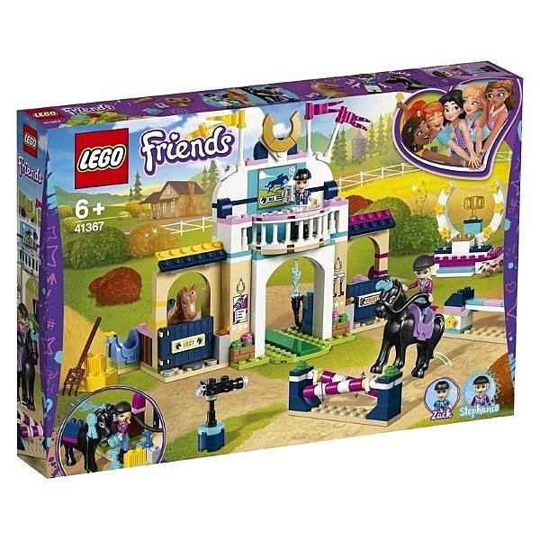 樂高 LEGO Friends系列 LT41367 斯蒂芬妮的騎馬跳欄賽