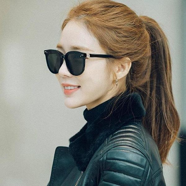 gm新款偏光太陽鏡明星同款眼鏡圓臉韓版潮女時尚ins抖音網紅墨鏡 喜迎新春