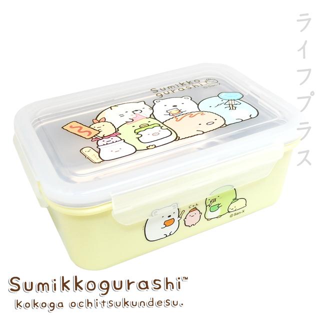 角落小夥伴-不鏽鋼方形隔熱餐盒-糖果-黃色