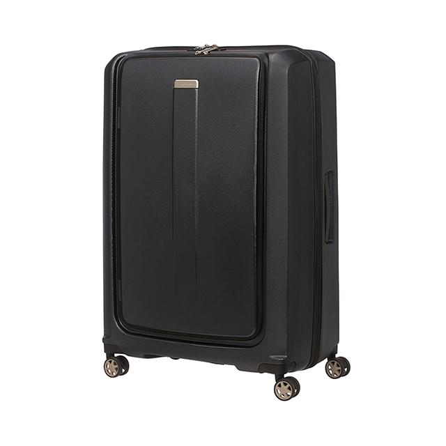 Samsonite新秀麗  25吋Prodigy 1:9前開PC防刮雙扣鎖行李箱 黑