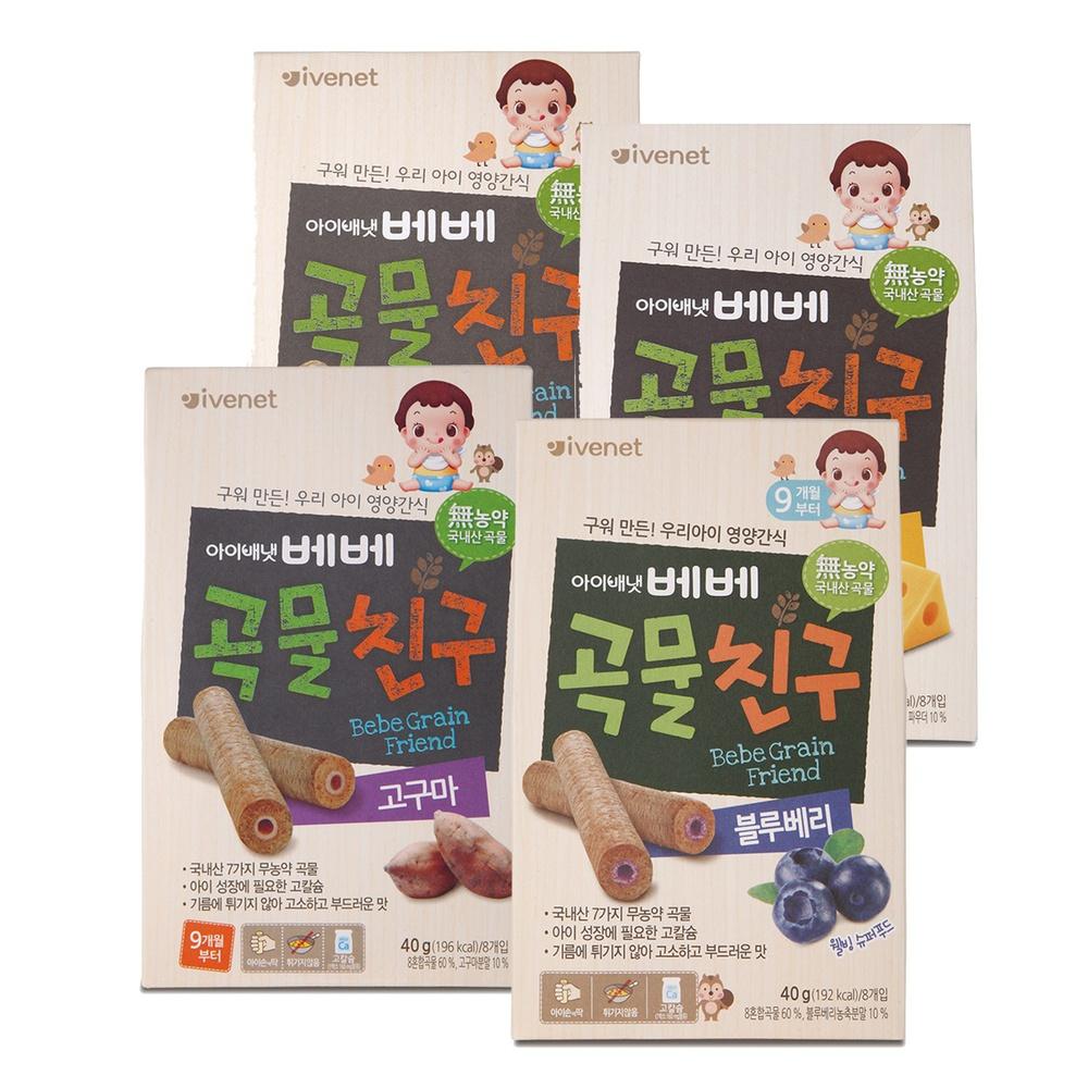韓國 ivenet 艾唯倪 穀物棒棒