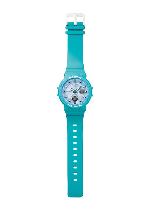 CASIO Baby-G BGA-250-2A2 霓虹照明系列女錶(湖水綠)