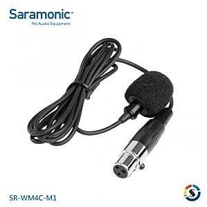 楓笛 Saramonic SR-WM4C-M1 領夾式麥克風 Mini XLR接頭【公司貨】