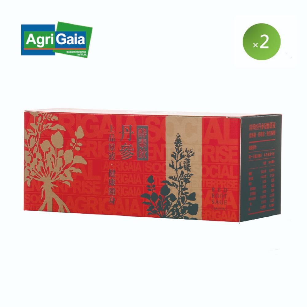 蓋婭輕漢方丹參酵素飲(酵素) 2盒 (10包 /盒)