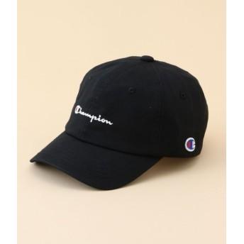 ロペピクニック キッズ/【ROPE' PICNIC KIDS】【チャンピオン】ロゴ刺繍ツイルキャップ/ブラック/54