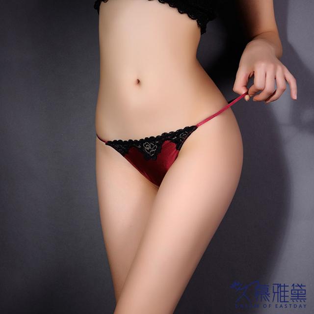 久慕雅黛 唯愛主義 ‧ 蕾絲精品高質感小褲。紅色