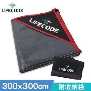 LIFECODE-加厚防水PE地墊(地席)300x300cm