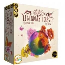 木林幻境 Legendary Forest 繁體中文版 台北陽光桌遊商城