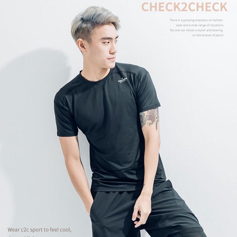 Check2Check-機能運動排汗衣-男 運動上衣 CT00-TC007 廠商直送 現貨
