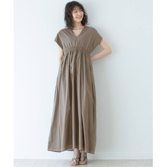 NOBLE 【MARIHA】 夏の光のドレス2◆ グレーA XS