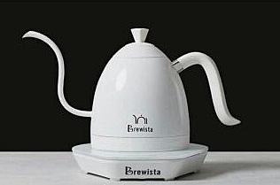 金時代書香咖啡 Brewista Artisan 電熱手沖壺 純白色 600ml