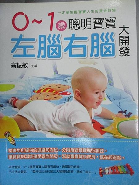 【書寶二手書T5/保健_DGH】0~1歲聰明寶寶-左腦右腦大開發_高振敏