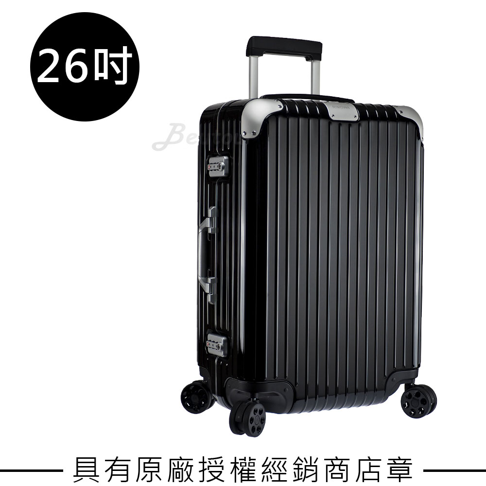 Rimowa Hybrid Check-In M 26吋行李箱(亮黑色)- 883.63.62.4