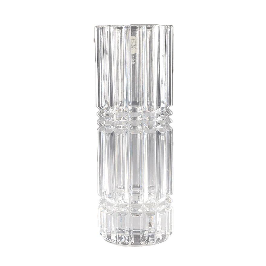 法國cristal d'arques高級水晶玻璃花器 花瓶 花插 水晶含量24% 30cm