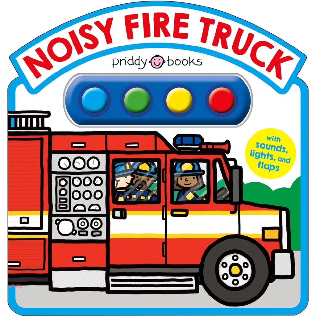 Noisy Fire Truck Sound Book (硬頁音效書)【三民網路書店】(硬頁書)[79折]
