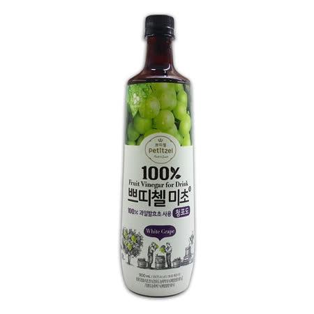 【韓國CJ】青葡萄果醋4瓶組(900ml*4瓶)