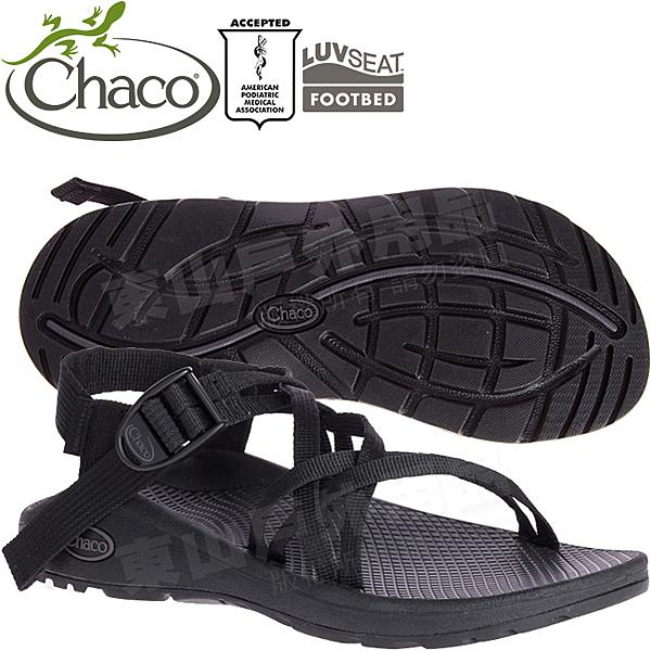 Chaco ZLW03_H405黑 女越野紓壓涼鞋-Z/Cloud X 雙織標準款運動鞋/佳扣水陸兩用鞋/沙灘拖鞋