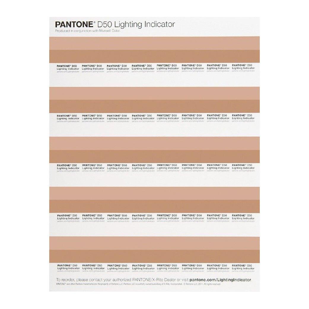 西瓜籽 PANTONE LNDS-1PK-D50照明指標貼LIGHTING INDICATOR Stickers