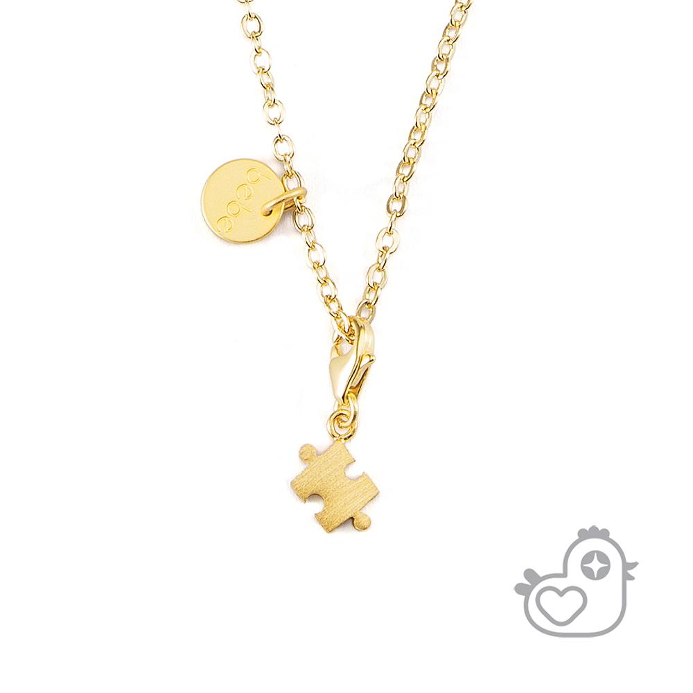 Caramelo 彩糖鑽工坊  拼圖項鍊 親子&閨蜜 彩糖貝貝繽紛寶石系列