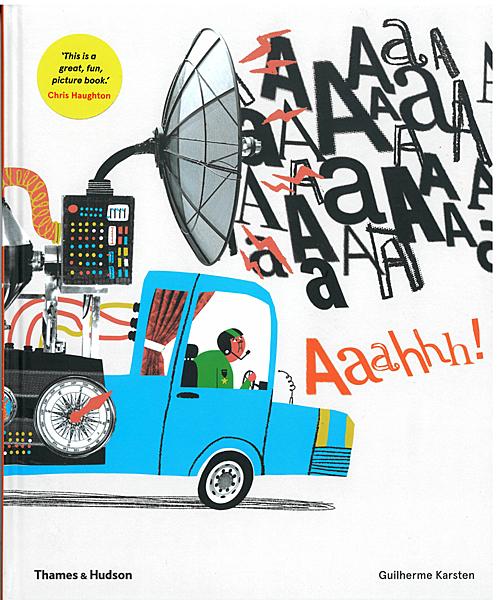 【暢銷繪本】AAAHHH! /精裝《主題: 幽默.想像.趣味》