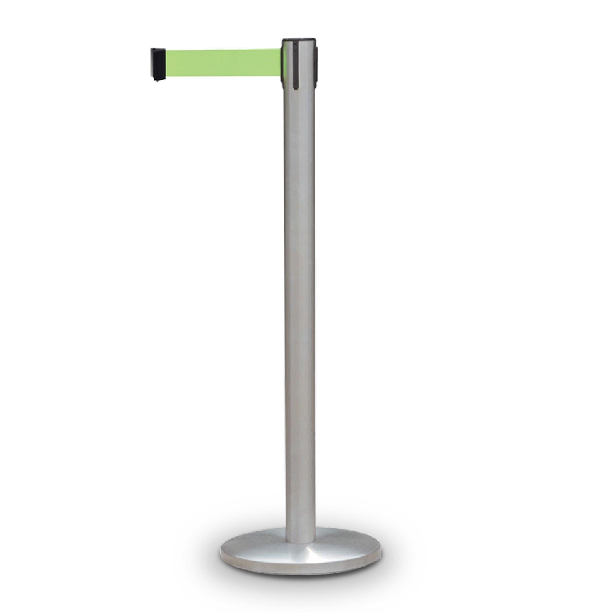 西瓜籽 不鏽鋼伸縮圍欄(毛絲面) TC-200S-HL 演唱會 機場 捷運 動線規劃 紅龍柱 安全圍欄 護欄 排隊