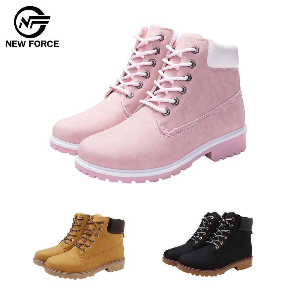 NEW FORCE潮款防滑百搭經典高筒靴/三色可選 廠商直送 現貨