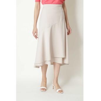 【ナチュラルビューティー/NATURAL BEAUTY】 ◆ストレッチサテンスカート