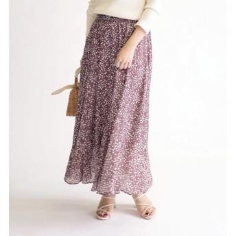 【シップス/SHIPS】 DEVEAUX ギャザースカート◇