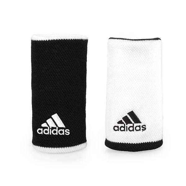 ADIDAS 長型護腕(網球 腕帶 運動 一雙入 愛迪達 訓練 免運 ≡排汗專家≡