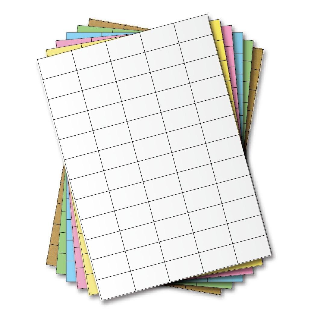 西瓜籽 龍德 三用電腦標籤貼紙 60格 LD-839-W-B 白色 1000張(箱)