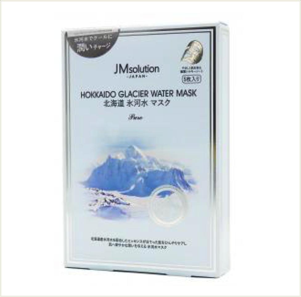 韓國 JM SOLUTION 北海道冰河面膜 (2.8G*5入)