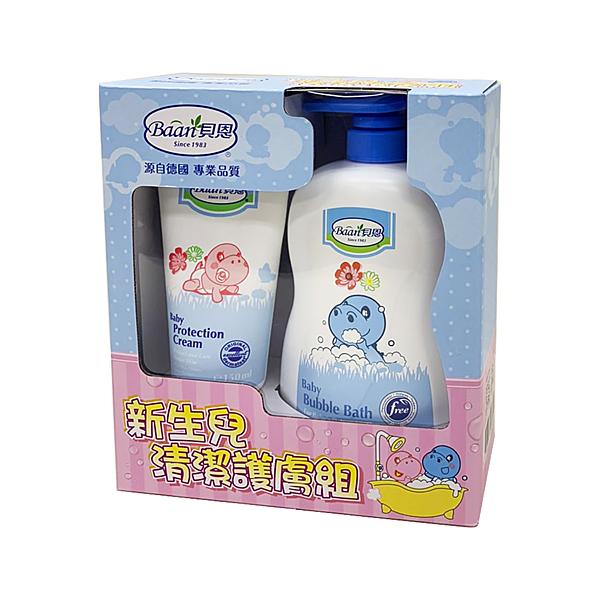 Baan貝恩 - 泡泡香浴露1000ml+護膚膏150ml 清潔護膚組