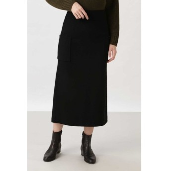 HUMAN WOMAN / [一部店舗限定] リバーメルトンスカート