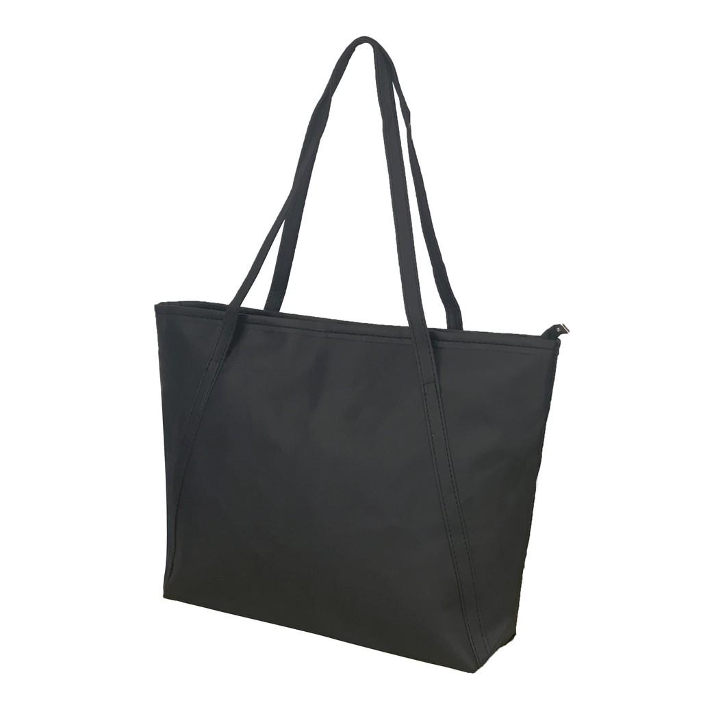 新款休閒托特包單肩包肩背包購物袋大容量媽媽包簡約A4手提包防水耐重【B202】