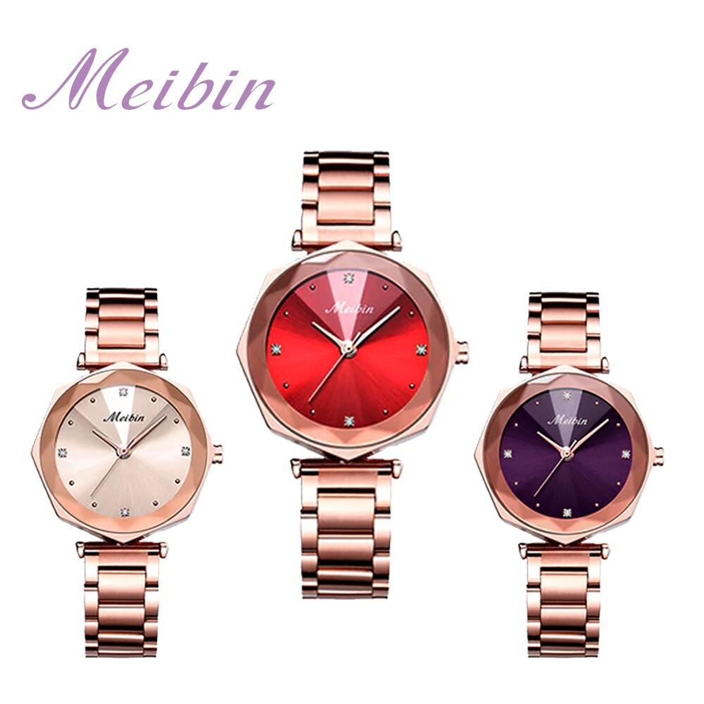 meibin美賓 光芒綻放鐵帶錶(1210m)