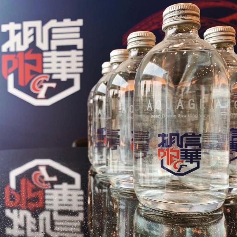 [現貨免運] AQUAGEN 海洋深層氣泡水 相信中華 2019世界12強棒球錦標賽-中華隊球員聯名款 (10瓶/組)