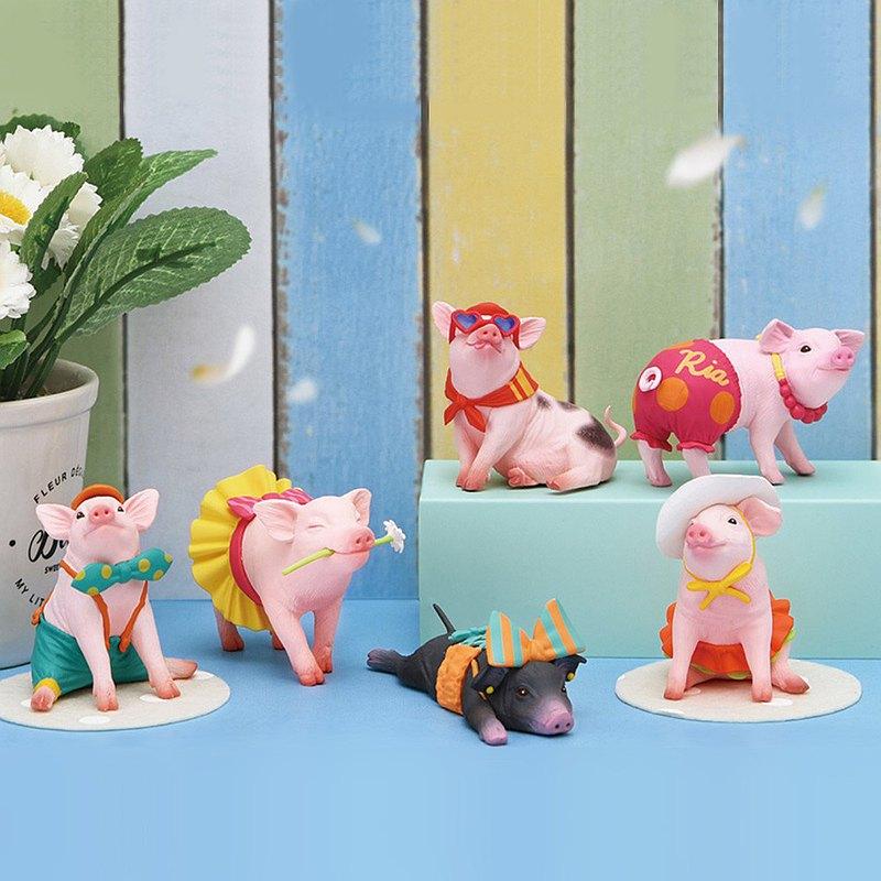Dreams│莉娜的最愛 花俏寵物迷你豬(單入隨機款)