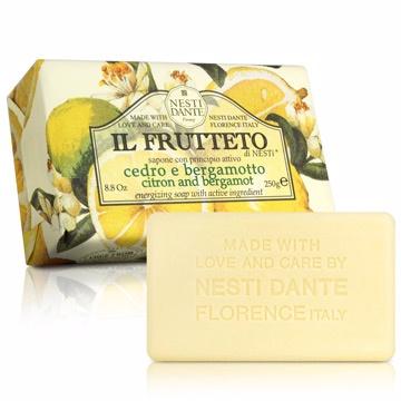 Nesti Dante 義大利手工皂 天然鮮果系列 檸檬和佛手柑 250g