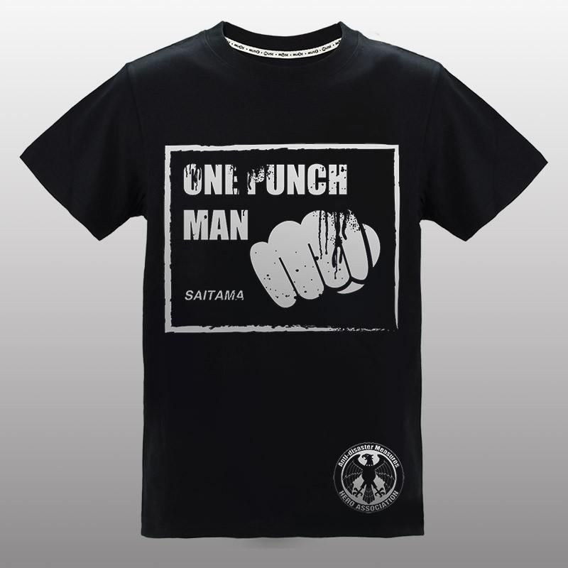 MUSE木棉花 燙銀T-shirt(一拳)-一拳超人