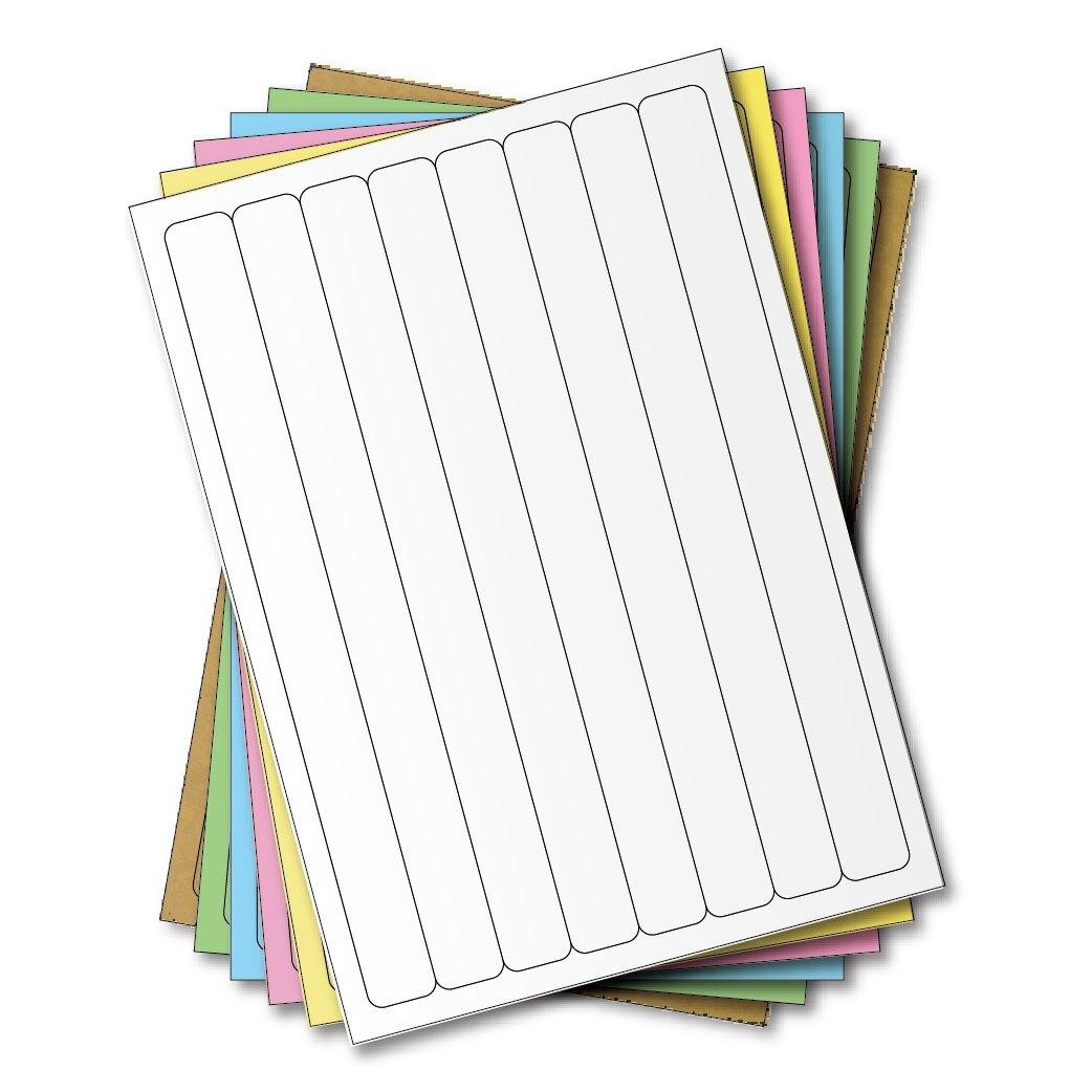 西瓜籽 龍德 三用電腦標籤貼紙 8格 LD-866-W-B 白色 1000張(箱)