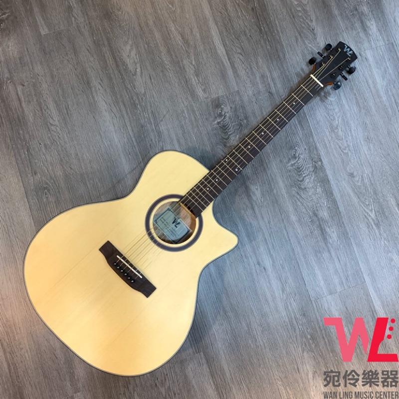 WL嚴選新手訂製木吉他 WL03 (附贈 琴袋、背帶、移調夾、Pick)