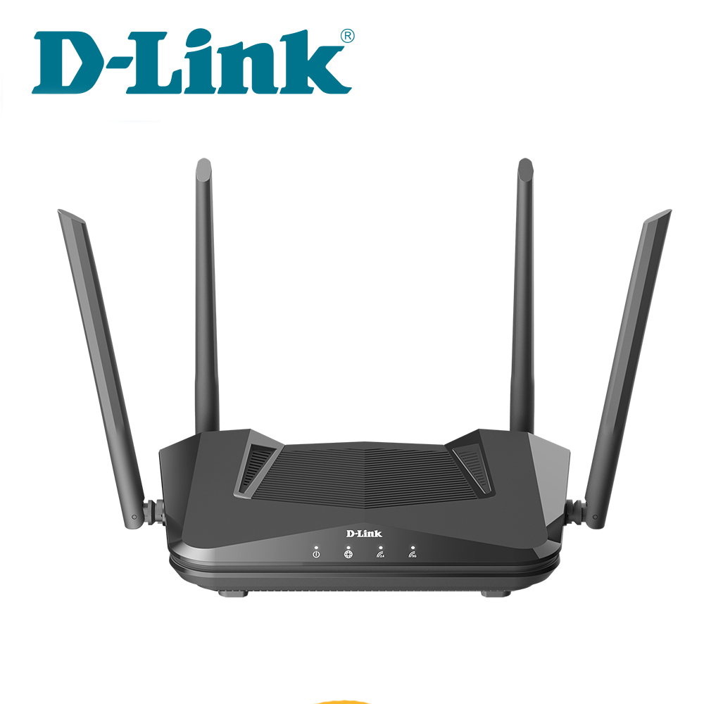 D-LINK 友訊 DIR-X1560 AX1500 Wi-Fi 6雙頻無線路由器